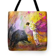 Toroscape 54 Tote Bag by Miki De Goodaboom