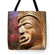 Totem I Tote Bag by Chris Dutton