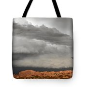Touch The Clouds Tote Bag by Christine Till