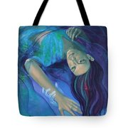 Touching The Ephemeral Tote Bag by Dorina  Costras