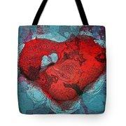Tough Love Tote Bag by Linda Sannuti