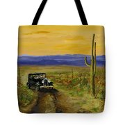 Touring Arizona Tote Bag by Jack Skinner