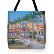 Town Center Abacoa Jupiter Tote Bag by Marilyn Dunlap