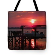 Toy On Hold Tote Bag by Karen Wiles