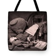 Toys Tote Bag by Tom Mc Nemar