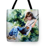 Tracy Tote Bag by Hanne Lore Koehler