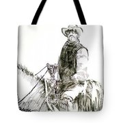 Trail Boss Tote Bag by Seth Weaver