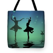 Tranquil Persuasion Tote Bag by Joyce Dickens