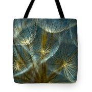 Translucid Dandelions Tote Bag by Iris Greenwell