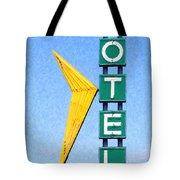 Travelers Motel Tulsa Oklahoma Tote Bag by Wingsdomain Art and Photography
