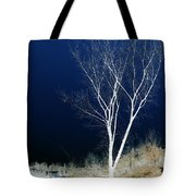 Tree By Stream I Tote Bag by Stuart Turnbull