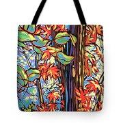 Tree Long Tote Bag by Nadi Spencer
