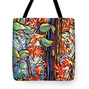 Tree Long Tote Bag by Nadi Spencer