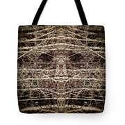 Tree Mask Tote Bag by Wim Lanclus