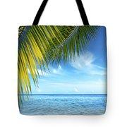 Tropical Beach Tote Bag by Carlos Caetano