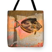 Tropical Dream Number 1 Square Format Tote Bag by Carol Leigh