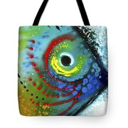 Tropical Fish Tote Bag by Sharon Cummings