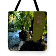 Tropical Spring Tote Bag by David Lee Thompson
