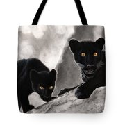 Trouble Tote Bag by Christian Conner