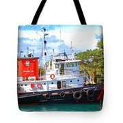 Tug on it Tote Bag by Debbi Granruth