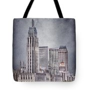 Tulsa Art Deco II Tote Bag by Tamyra Ayles