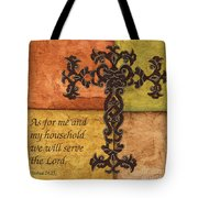 Tuscan Cross Tote Bag by Debbie DeWitt