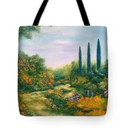 Tuscany Atmosphere Tote Bag by Hannibal Mane