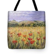 Tuscany Poppies Tote Bag by Nadine Rippelmeyer