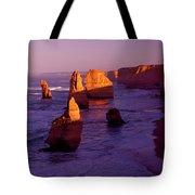 Twelve Apostle Dawn Tote Bag by Mike  Dawson