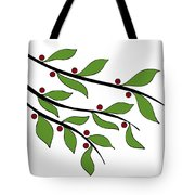 Twigs Tote Bag by Frank Tschakert