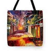 Twilight In New Orleans Tote Bag by Diane Millsap