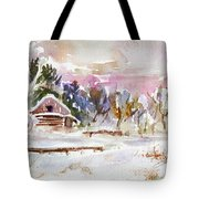 Twilight Serenade I Tote Bag by Xueling Zou