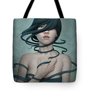 Twisted Tote Bag by Diego Fernandez