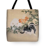 Two Cats Tote Bag by Japanese School