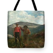 Two Guides Tote Bag by Winslow Homer