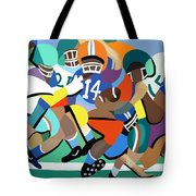 Two Minute Warning Tote Bag by Anthony Falbo