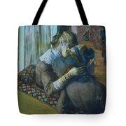 Two Women Tote Bag by Edgar Degas
