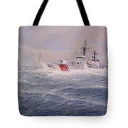 U. S. Coast Guard Cutter Gallitin Tote Bag by William H RaVell III