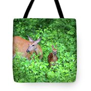 Uh Oh Spotted Tote Bag by Karol  Livote