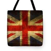 UK Flag Tote Bag by Brett Pfister