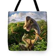 Ultrasaurus Tote Bag by Jerry LoFaro