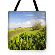 Ulupalakua Country Road Tote Bag by Ron Dahlquist - Printscapes