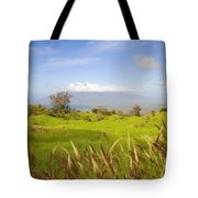 Ulupalakua Landscape Tote Bag by Ron Dahlquist - Printscapes