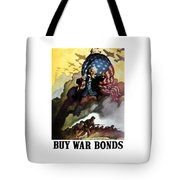 Uncle Sam - Buy War Bonds Tote Bag by War Is Hell Store