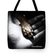 Unconditional Tote Bag by Shana Rowe Jackson