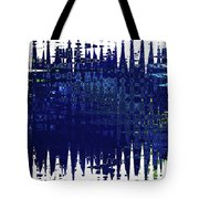 Under the Sea - Abstract Art Tote Bag by Carol Groenen