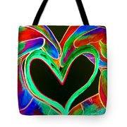 Universal Sign For Love Tote Bag by Eloise Schneider