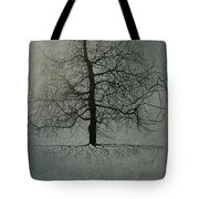 Untitled Blue Tote Bag by Leah  Tomaino