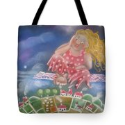 Up And Away Tote Bag by Caroline Peacock