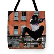 Urban Police Tote Bag by Monday Beam